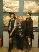 Gigi, Pat, and Colleen